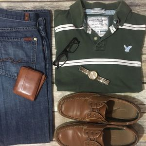 "American Eagle Outfitters ""The Eagle"" Vintage Polo"